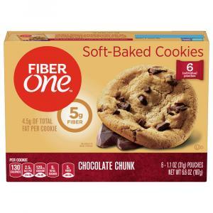 Fiber One Chocolate Chunk Cookies
