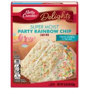 Betty Crocker SuperMoist Party Rainbow Chip Cake Mix