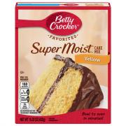 Betty Crocker SuperMoist Yellow Cake Mix