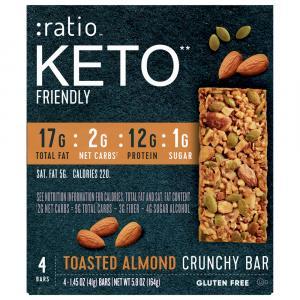 Ratio Toasted Almond Bars