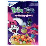 General Mills Trix with Marshmallows Trolls Cereal