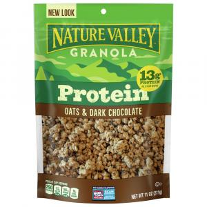 Nature Valley Oats 'n Dark Chocolate Protein Granola Cereal
