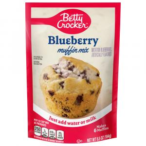 Betty Crocker Blueberry Pouch Muffin Mix