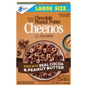 General Mills Chocolate Peanut Butter Cheerios Large Size