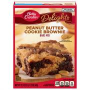Betty Crocker Peanut Butter Cookie Brownie Mix