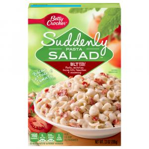 Betty Crocker Suddenly Pasta Salad BLT Pasta