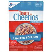 General Mills Team Cheerios Frosted Berry Cereal