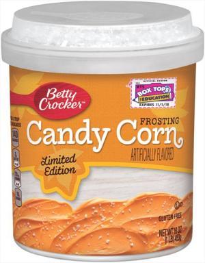 Betty Crocker Candy Corn Frosting