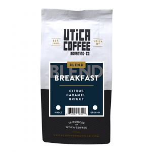 Utica Coffee Breakfast Blend Ground