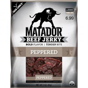 Matador Beef Jerky Peppered