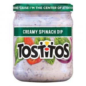 Tostitos Creamy Spinach Dip