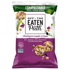 Off the Eaten Path Chickpea Veggie Crisps