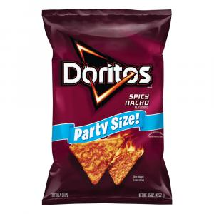 Doritos Party Size Spice Nacho