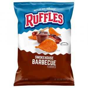 Ruffles Smokehouse Barbeque Potato Chips