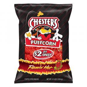 Chester's Flamin' Hot Puff Corn