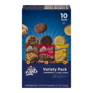 Grandma's Ready To Go Variety Cookies 10 Pack