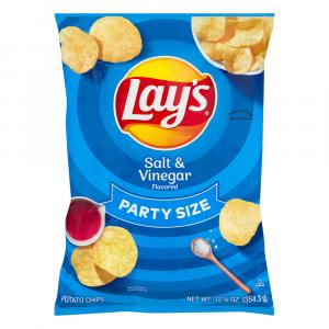 Lay's Party Size Salt & Vinegar Potato Chips