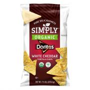 Simply Organic White Cheddar Doritos