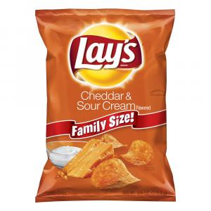 Lay's Cheddar Sour Cream Potato Chips