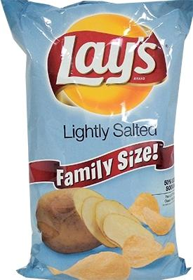 Lay's Lightly Salted Chips