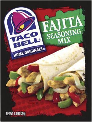 Taco Bell Chicken Fajita Seasoning Mix