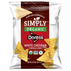 Simply Organic Doritos White Cheddar