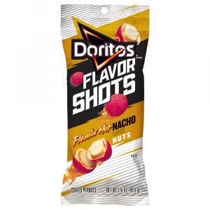 Doritos Flavor Shots Flamin Hot Nacho Cheese Nuts