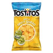 Tostitos Hint of Spicy Queso