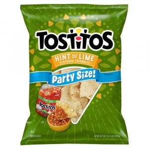 Tostitos Hint Of Lime Party Size