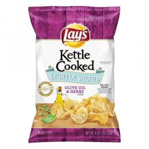 Lay's Kettle Cooked Olive Oil & Herb Chips
