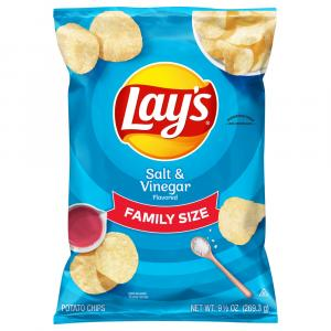 Lay's Family Size Salt and Vinegar