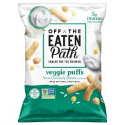 Off the Eaten Path Sour Cream & Onion Veggie Puffs