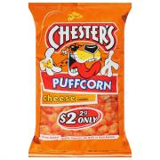 Chester's Cheese Flavored Puff Corn