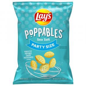 Lay's Poppables Sea Salt Party Size Potato Snacks