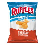 Ruffles Cheddar & Sour Cream Party Size