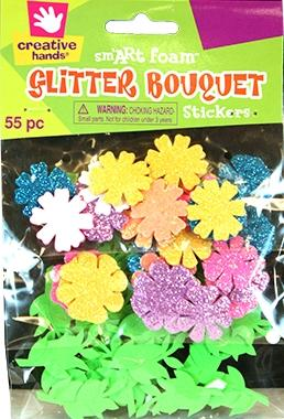 Creative Hands Foam Glitter Bouquet