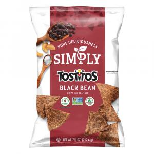 Simply Tostitos Black Bean Sea Salted Tortilla Chips