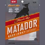 Matador Flamin' Hot Beef Jerky