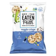 Off the Eaten Path Veggie Crisps Sea Salt & Black Pepper