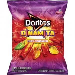 Doritos Dinamita Fiery Habanero Rolled Tortilla Chips