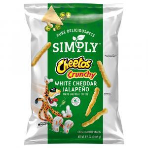 Simply Cheetos Crunchy White Cheddar Jalapeno