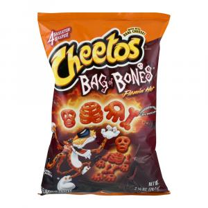 Cheetos Flamin Hot Bag Bones