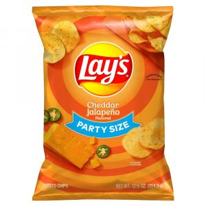 Lay's Party Size Cheddar Jalapeno