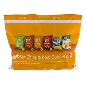 Sun Chips & Rold Gold Mix