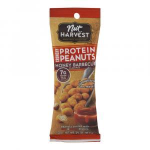 Nut Harvest Protein Honey Bbq Peanuts