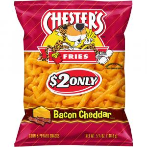 Chester's Bacon Cheddar Fries Corn & Potato Snacks