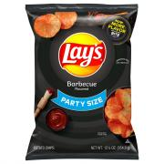 Lay's Party Size Barbecue Potato Chips