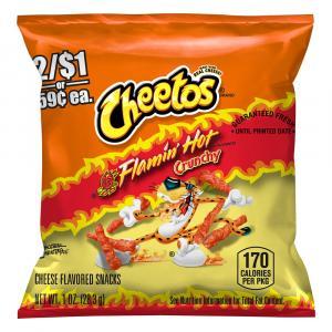 Crunchy Hot Cheetos
