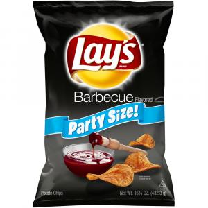 Lay's Bbq Party Size Chips