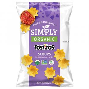 Tostitos Simply Organic Scoops